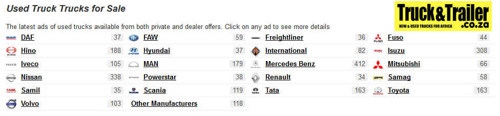 Used-trucks-for-Sale-in-South-Africa