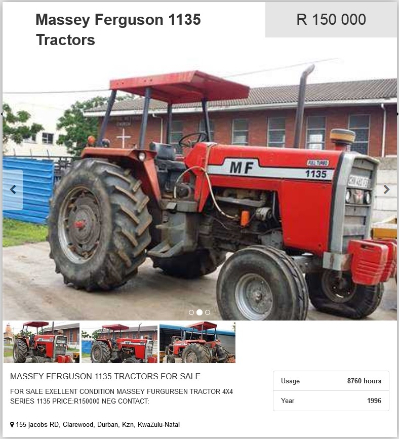 Massey-Ferguson-1135-Tractors-for-sale
