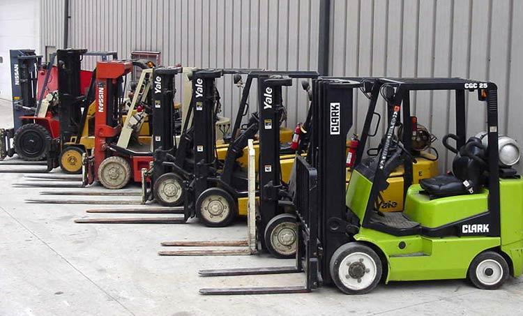 how to find the value of a forklift