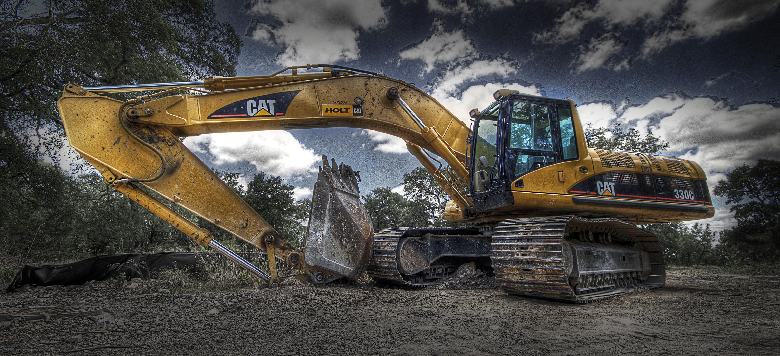 Excavator Cat  Video