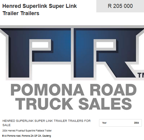 Henred-Superlink-Trailers-2004-Model-for-sale