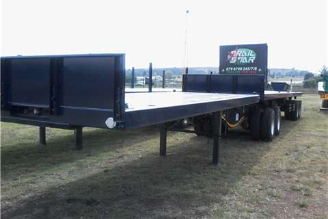 Paramount-Superlink-Flat-Deck-Trailer