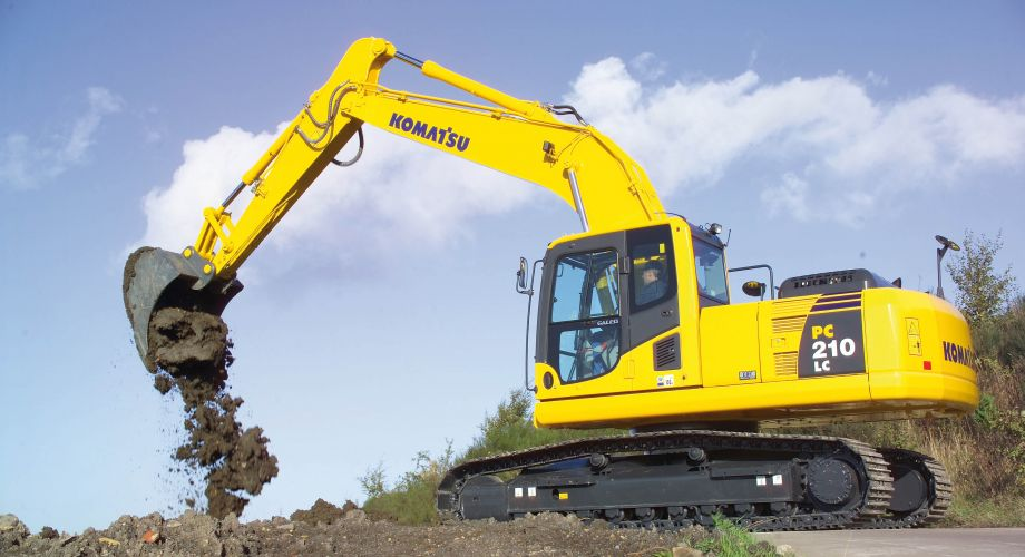 komatsu-hydraulic-excavator