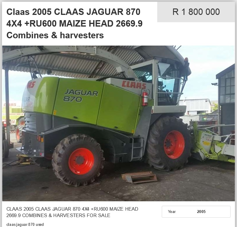 Claas-Harvester-For-Sale
