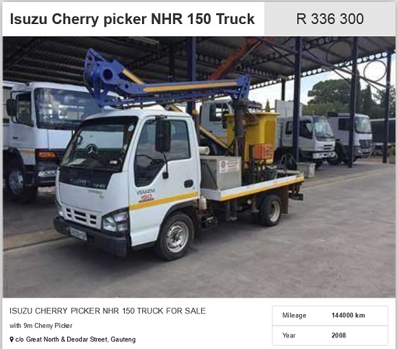 Isuzu-Cherry-Picker-for-sale