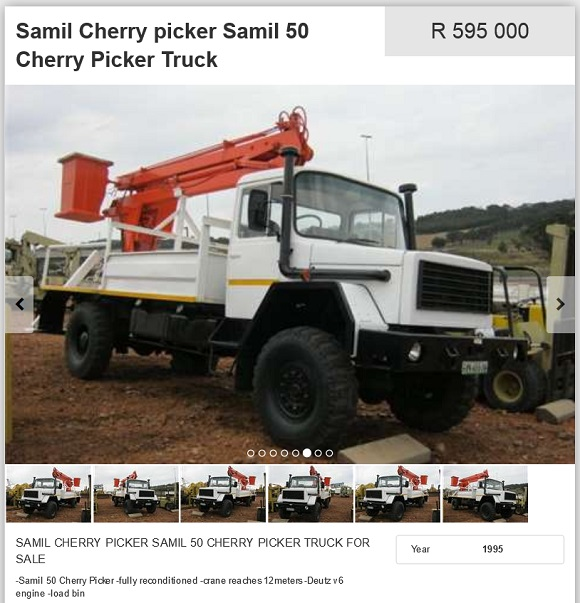 Samil-Cherry-Picker-Truck-for-sale