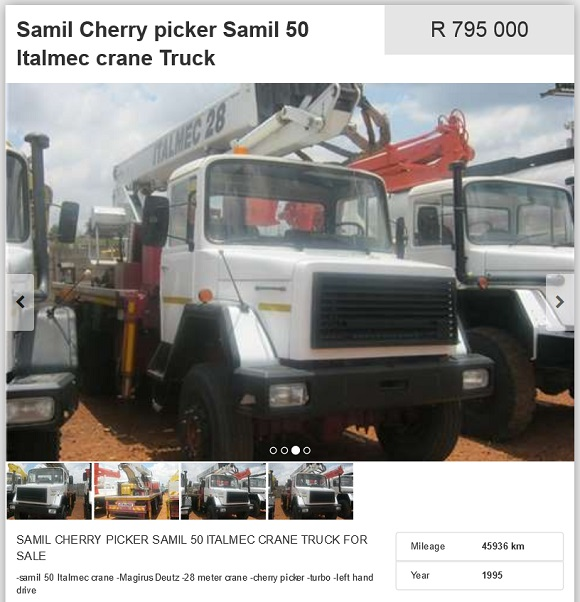 Samil-Cherry-Picker-for-sale