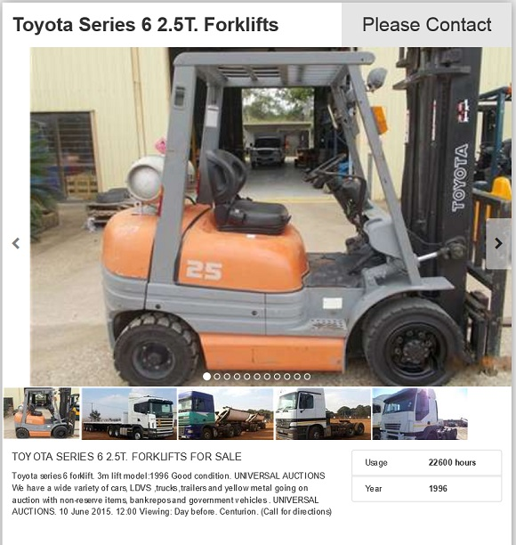 Toyota-2.5ton-Forklift-for-sale