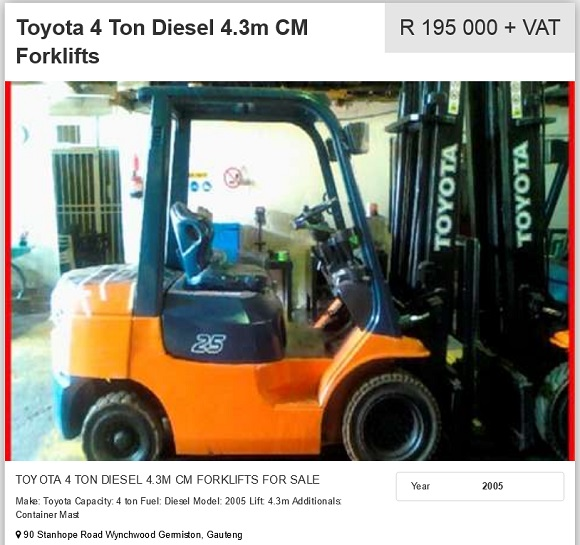 Toyota-4ton-Forklift-for-sale