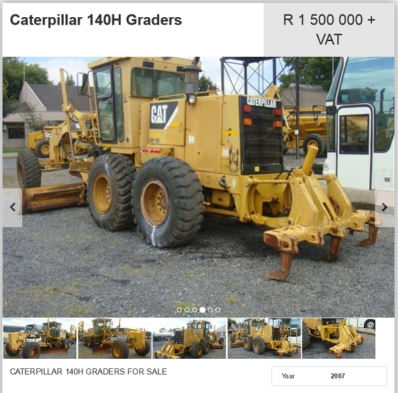 Caterpillar-140H-Grader-for-sale