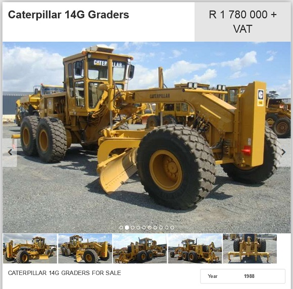 Caterpillar-14G-Grader-for-sale