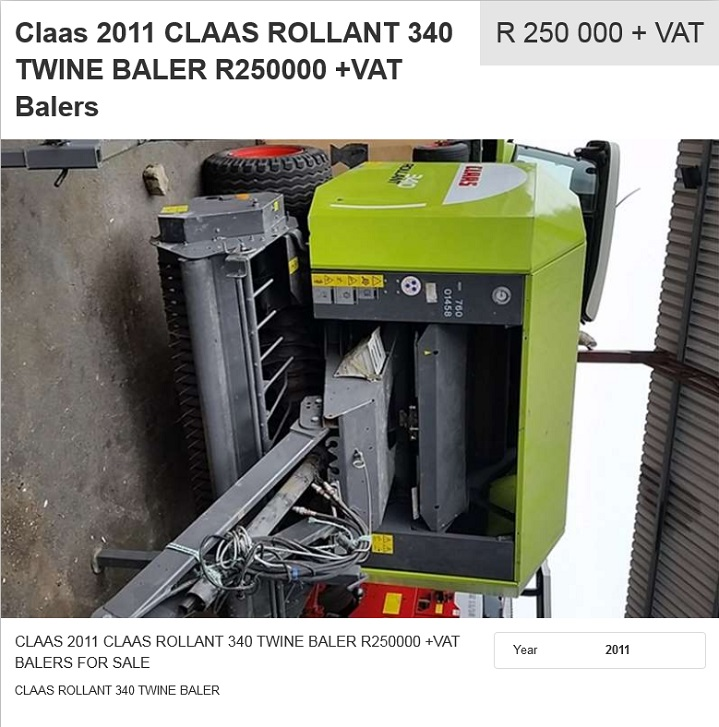 Claas-Rollant-340-Twine-Baler-for-sale