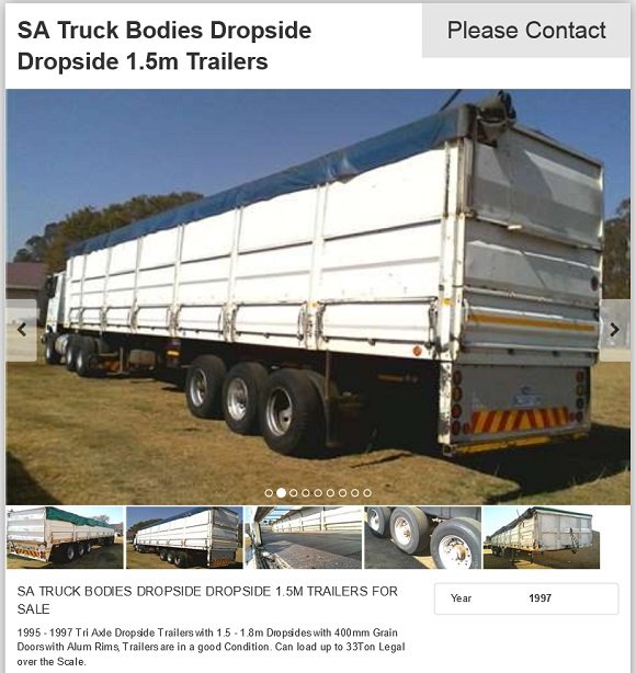 Dropside-Truck-Trailer-for-sale