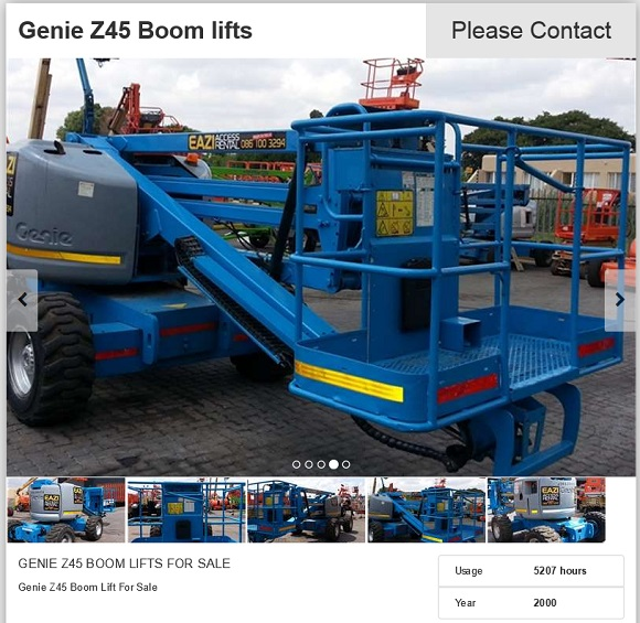 Genie-Z45-Boom-lift-for-sale