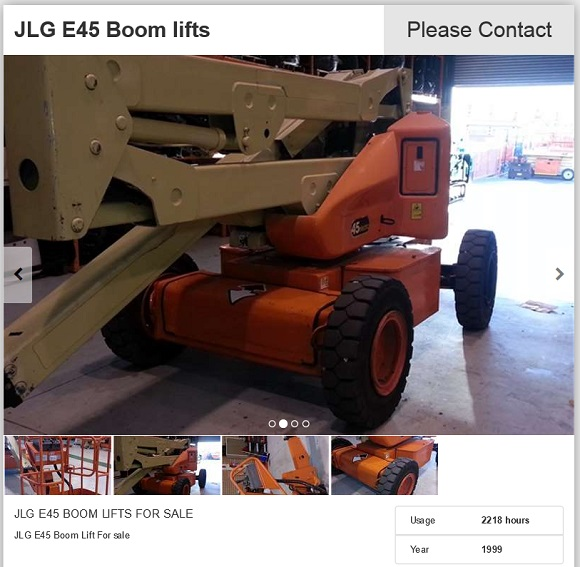 JLG-E45-Boom-lift-for-sale