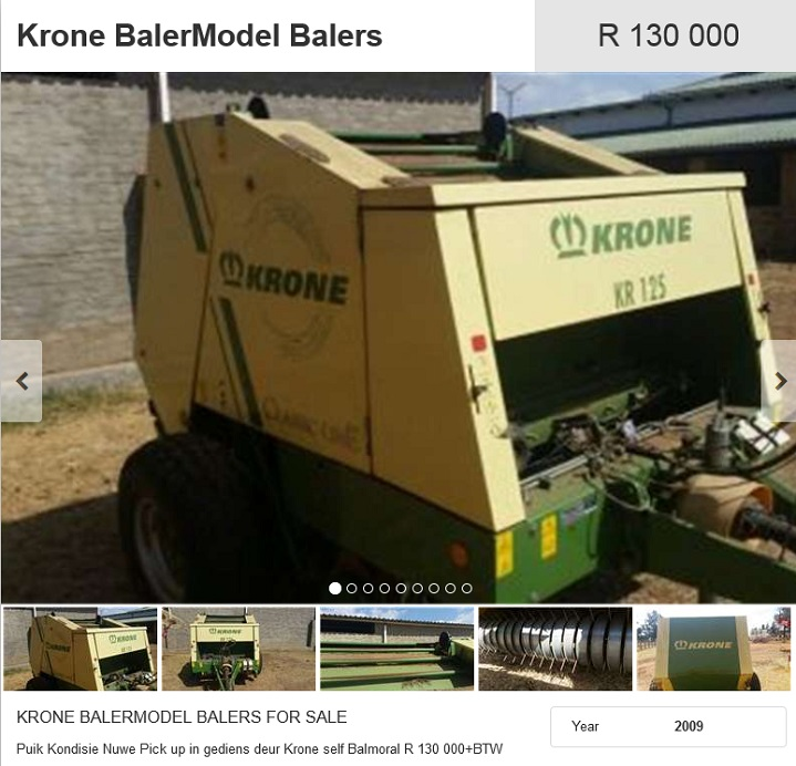 Krone-Baler-for-sale