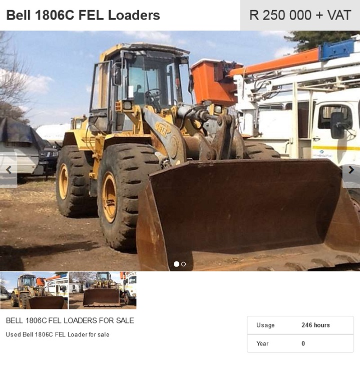 Bell-1806C-Loader-for-sale