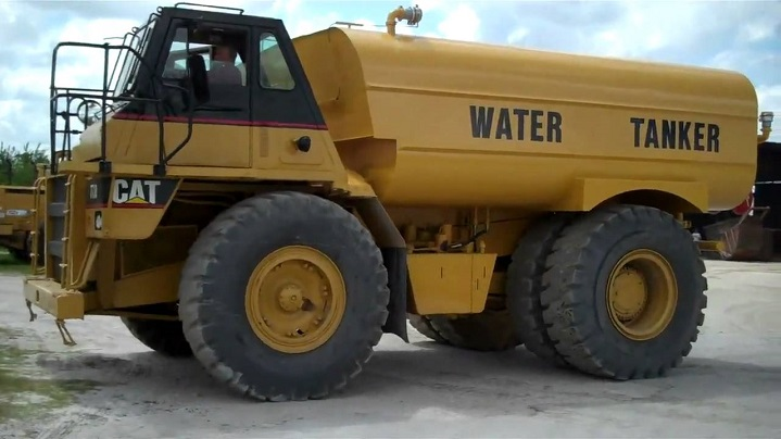 Caterpillar-water-tanker-trucks