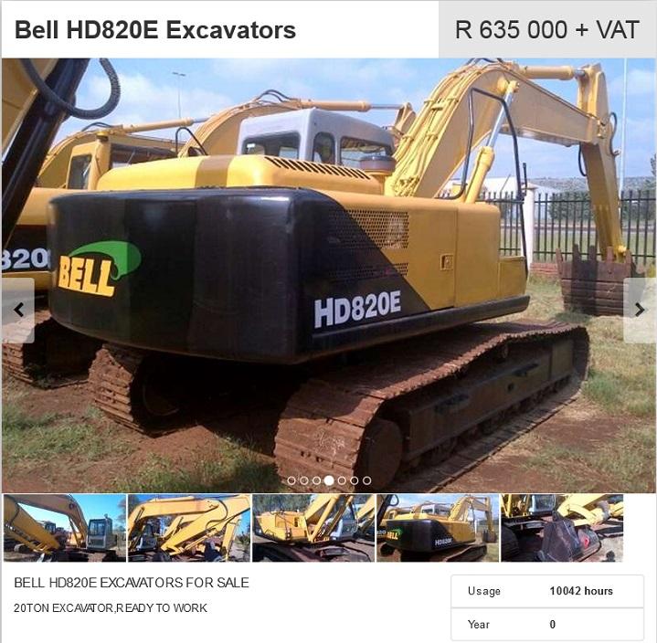Bell-Excavator