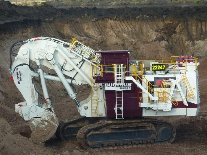 Bucyrus-RH340-Excavator