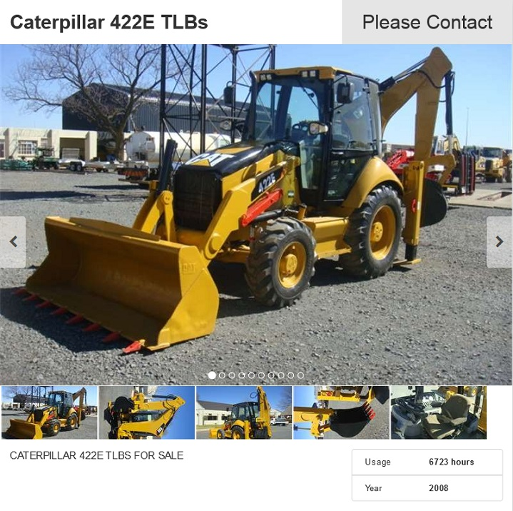 Caterpillar-422E-TLB