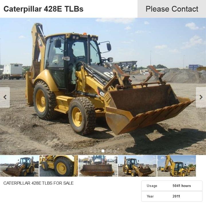 Caterpillar-428E-TLB