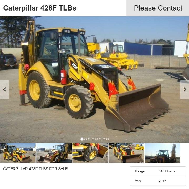 Caterpillar-428F-TLB