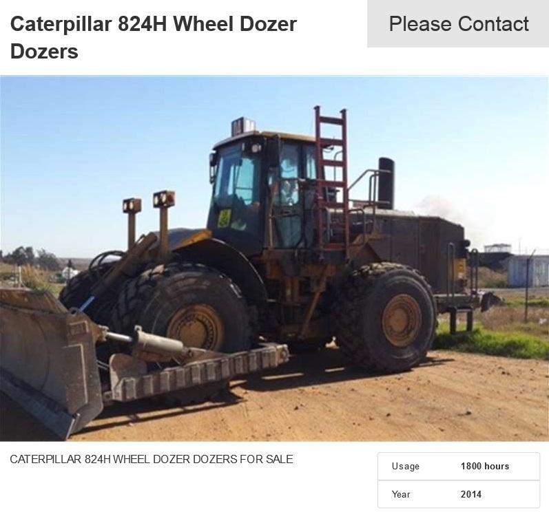Caterpillar-824H-Wheel-Dozer