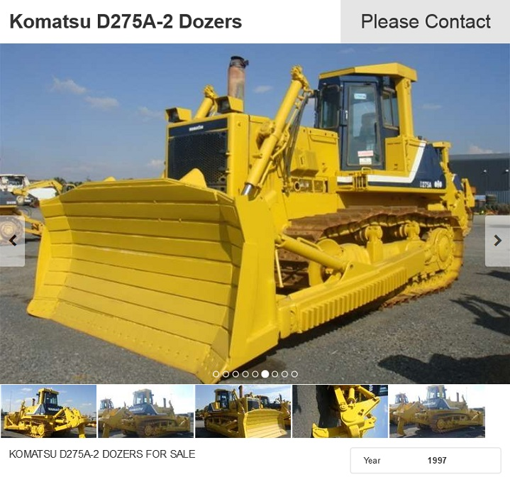 Komatsu-D275A-2-Dozer