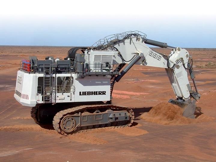 Liebherr-R966-Excavator