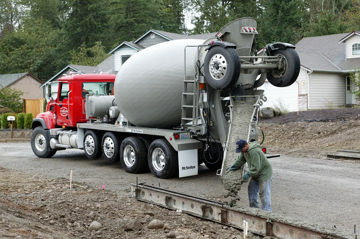 Used Small Cement Mixers : Concrete mixer the tough and rugged magic machine truck