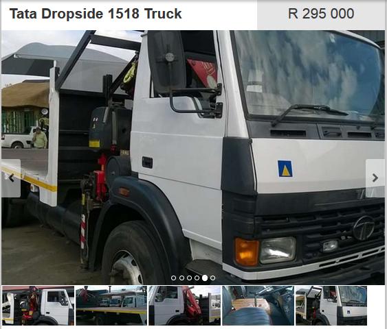 Tata-Dropside-1518-Truck