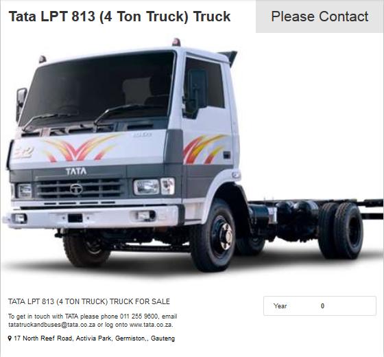 Tata-LPT-813-(4 Ton Truck)-Truck