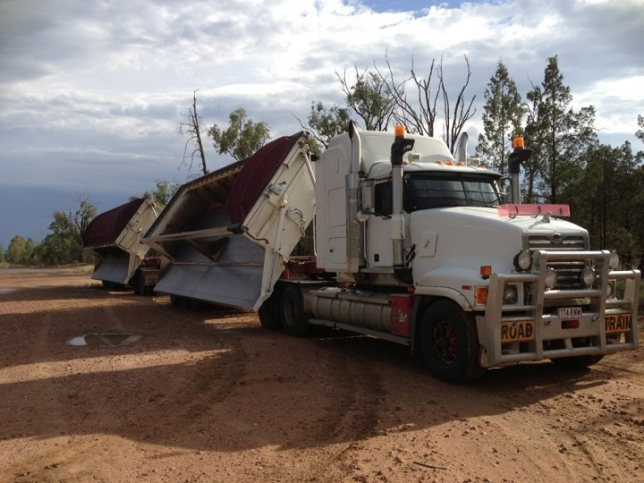 Truck And Trailer  A Look At Side Tippers From Afrit