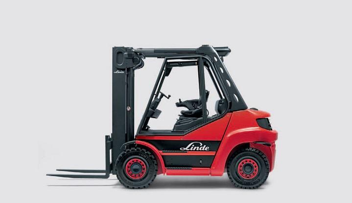 Linde-Diesel-Forklift