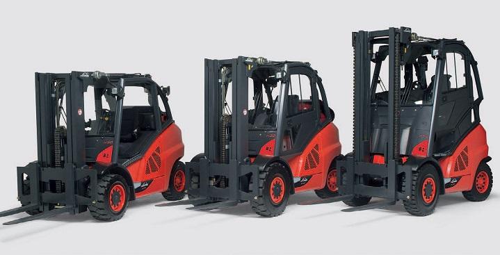 Linde-Forklift-models