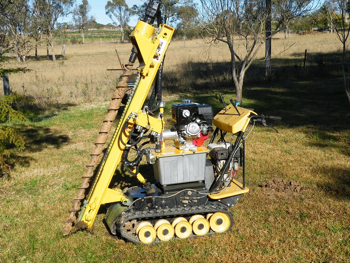 Drill Rigs: Designed to be tough, durable and reliable