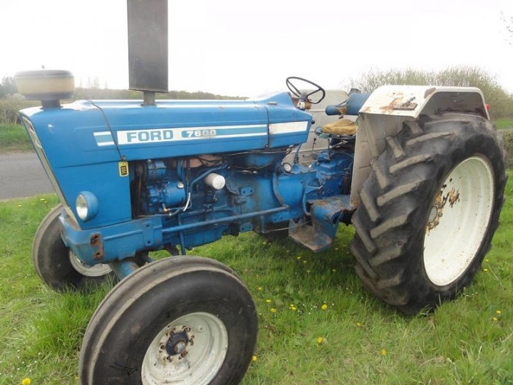 ford 540 tractor serial number