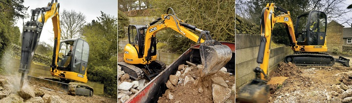 mini excavators for sale