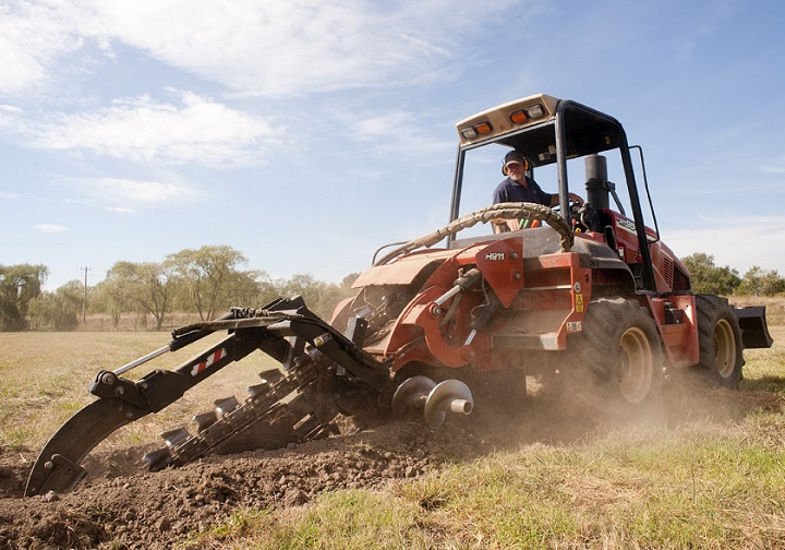 Trencher: Designed to dig trenches with power and efficiency