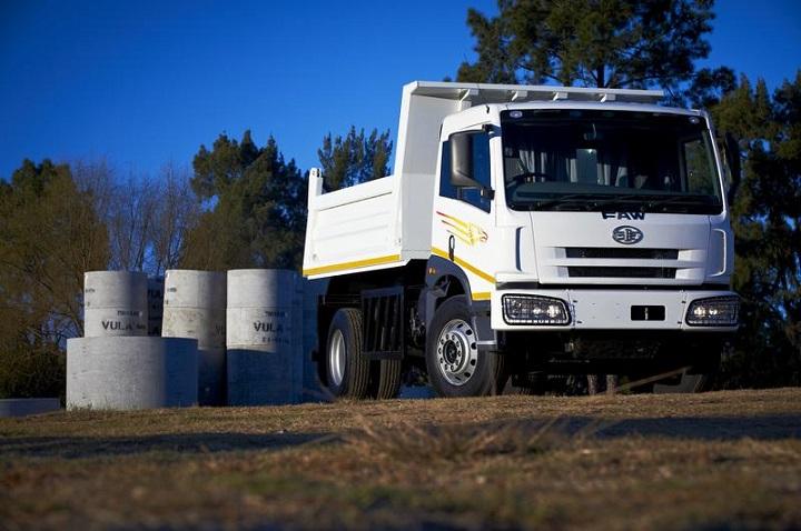 faw tipper trucks