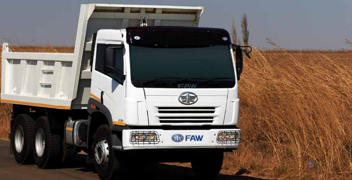 faw tipper truck for sale