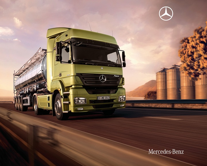mercedes benz trucks for sale