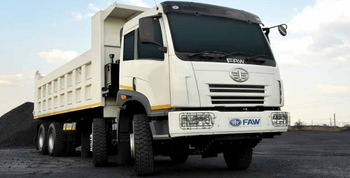 faw tipper for sale
