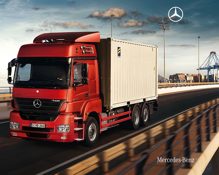 Axor mercedes trucks powerful durable and economic for Mercedes benz sales jobs