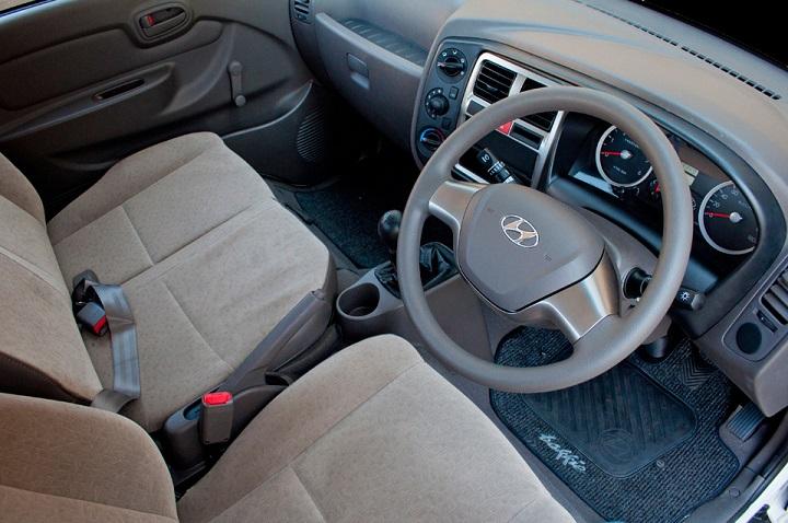 hyundai h100 interior view