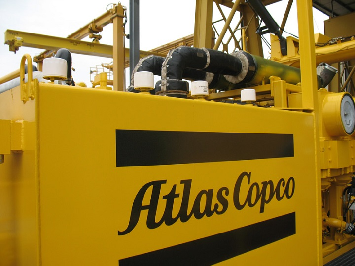 machinery from atlas copco