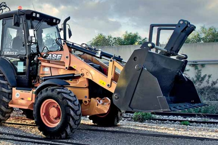 case tractor loader backhoe