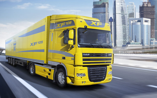 daf xf 105 truck
