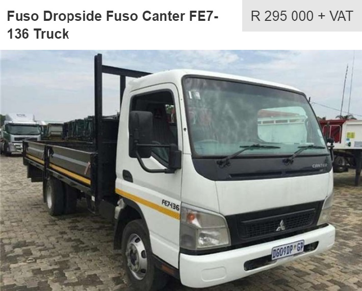 dropside truck from pomona road truck sales